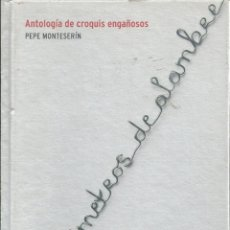 Libros de segunda mano: MIL KILÓMETROS DE ALAMBRE. ANTOLOGÍA DE CROQUIS ENGAÑOSOS. DE PEPE MONTESERÍN. Lote 56400846