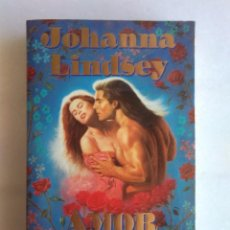 Libros de segunda mano: AMOR ETERNO. JOHANNA LINDSEY. Lote 56461518