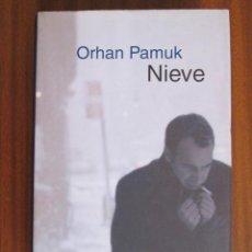 Libros de segunda mano: NIEVE --- OHRAN PAMUK. Lote 56621607