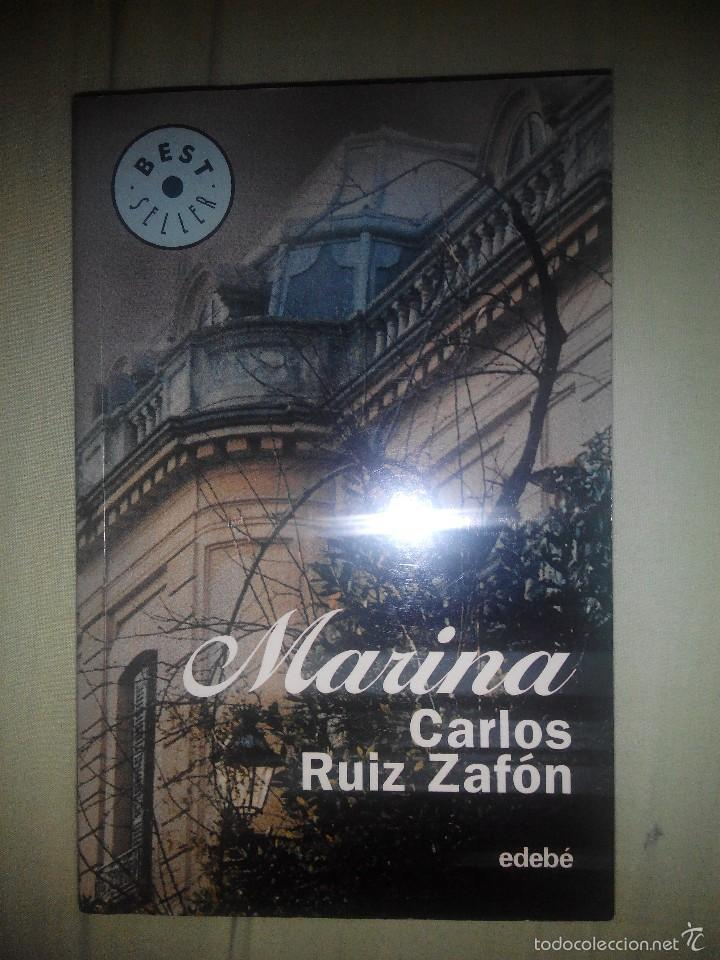 CARLOS RUIZ ZAFON MARINA EDEBE (Libros de Segunda Mano (posteriores a 1936) - Literatura - Narrativa - Otros)