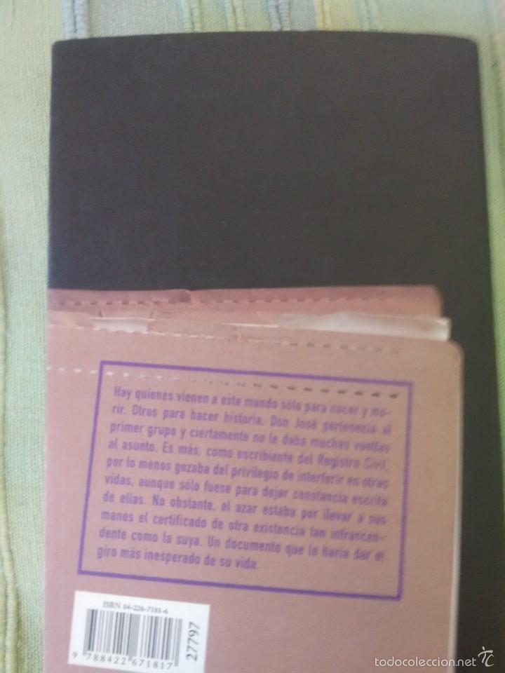 Libros de segunda mano: TODOS LOS NOMBRES. José Saramago. Círculo de Lectores - Foto 3 - 56664436