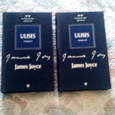 Libros de segunda mano: ULISES, DE JAMES JOYCE (2 VOLUMENES)(RBA). Lote 56688649