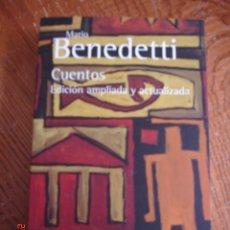Libros de segunda mano: CUENTOS - MARIO BENEDETTI - ALIANZA EDITORIAL, 2009 - EDICIÓN AMPLIADA Y ACTUALIZADA - NUEVO. Lote 57101030