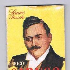 Libros de segunda mano: MINI LIBRO ENCICLOPEDIA PULGA Nº 1 CARUSO ANTIGUO. Lote 57105269
