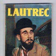 Libros de segunda mano: MINI LIBRO ENCICLOPEDIA PULGA Nº 47 LAUTREC. Lote 57105412