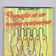 Libros de segunda mano: MINI LIBRO ENCICLOPEDIA PULGA Nº 107 BIOGRAFÍA DE UN HOMBRE CUALQUIERA. Lote 57105575