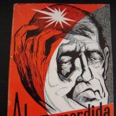 Libros de segunda mano: ALMA MORDIDA. ANTONIO CORTES. CON DEDICATORIA DE AUTOR 1967.. Lote 57107223