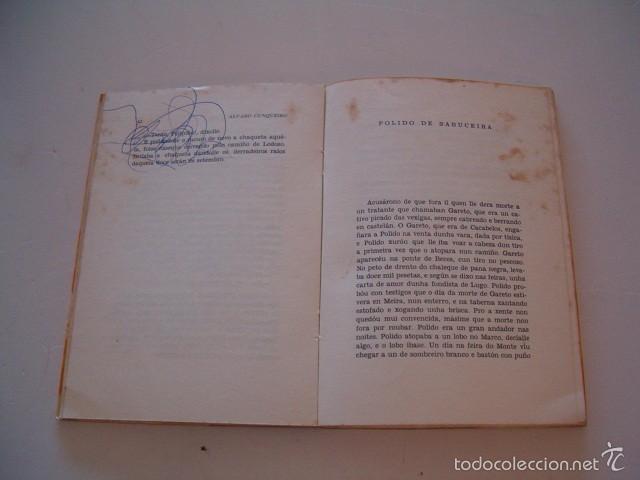 Libros de segunda mano: ÁLVARO CUNQUEIRO. Xente de aquí y de acolá. RM74867. - Foto 3 - 57187321
