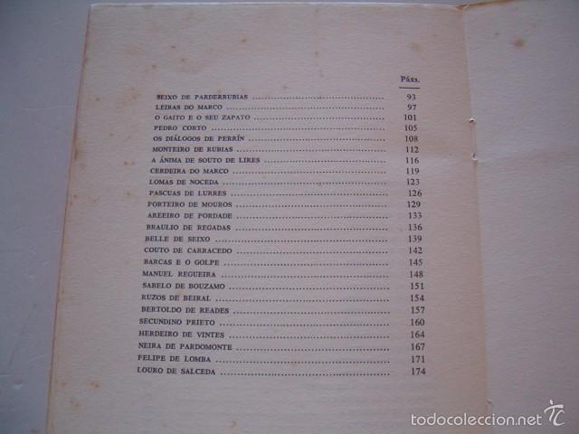 Libros de segunda mano: ÁLVARO CUNQUEIRO. Xente de aquí y de acolá. RM74867. - Foto 5 - 57187321