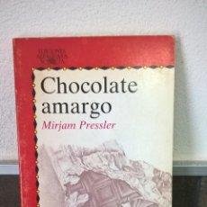 Libros de segunda mano: CHOCOLATE AMARGO, MIRJAM PRESSLER.MIRIAM PRESSLER.ALFAGUARA.. Lote 57284197