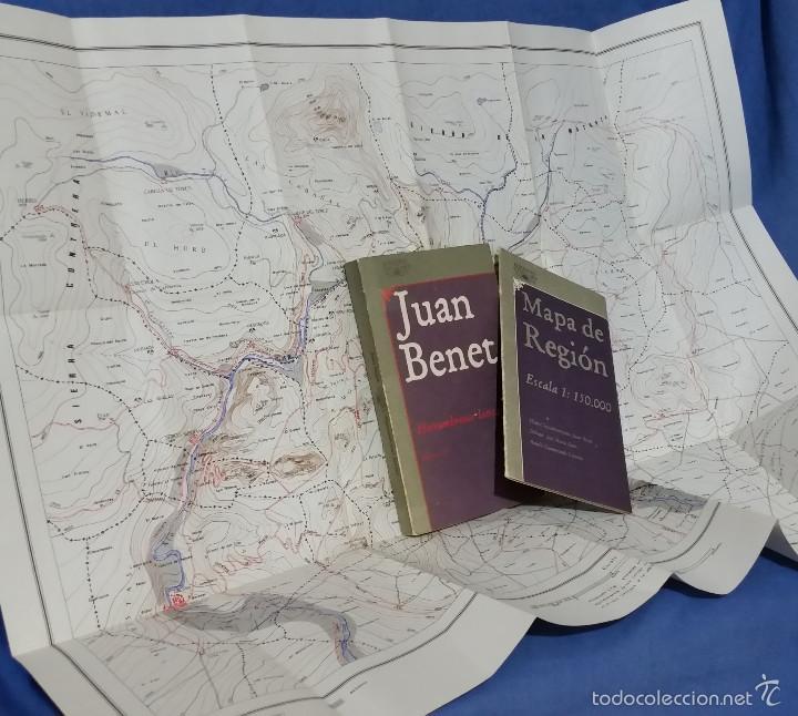 HERRUMBROSAS LANZAS + MAPA DE LA REGIÓN - 1983 - JUAN BENET - LIBROS I-VI - ISBN 8420421553 (Libros de Segunda Mano (posteriores a 1936) - Literatura - Narrativa - Otros)
