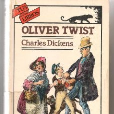 Libros de segunda mano: TUS LIBROS. Nº 95. OLIVER TWIST. CHARLES DICKENS. ANAYA 1ª EDICION 1990. (B/A42). Lote 57366512
