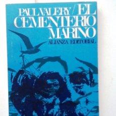 Libros de segunda mano: EL CEMENTERIO MARINO 1967. PAUL VALERY. ENSAYO DE EXPLICACION GUSTAVE COHEN. Lote 57389011