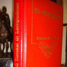 Libros de segunda mano: EL GATOPARDO. G. TOMASI DI LAMPEDUSA. EDIT. ARGOS VERGARA, 1980.PRÓLOGO DE LA ED. ITALIANA DE BASSAN. Lote 57417605