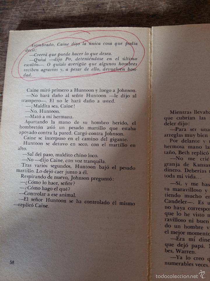 Libros de segunda mano: Cadenas, nº2 de la serie KUNG-FU. Año 1974 - Foto 2 - 36671238