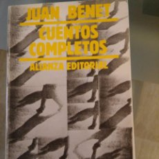 Libros de segunda mano: CUENTOS COMPLETOS. JUAN BENET. TOMO 2. ALIANZA EDIT. 1995. Lote 57497113