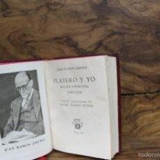Libros de segunda mano: PLATERO Y YO. JUAN RAMÓN JIMÉNEZ. CRISOLÍN. NÚM. 07. 1953. . Lote 57598881