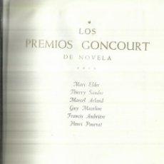 Libros de segunda mano: LOS PREMIOS GONCOURT DE NOVELA. TOMO IV.PLAZA & JANES.AUTORES EN FOTO PRINCIPAL. BUENOS AIRES. 1965. Lote 57618544