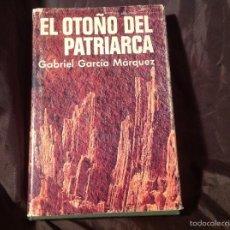 Libros de segunda mano: EL OTOÑO DEL PATRIARCA PRIMERA EDICIÓN PLAZA & JANÉS 1975 GABRIEL GARCÍA MÁRQUEZ. Lote 57624405