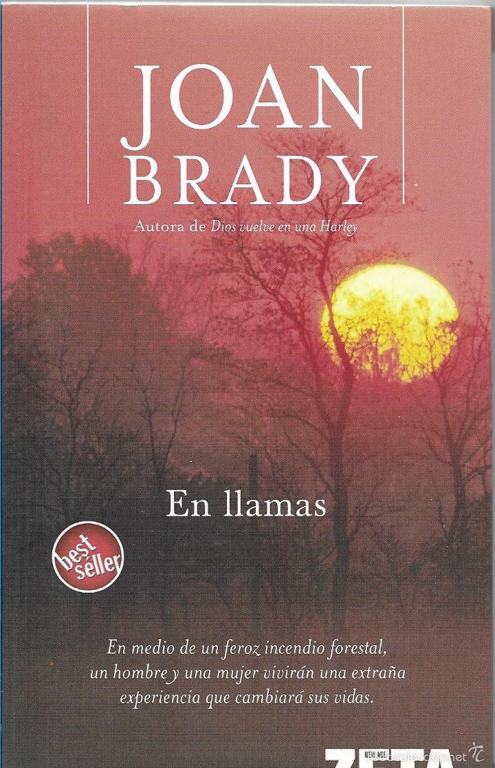 EN LLAMAS - JOAN BRADY - BEST SELLER - BOLSILLO ZETA - 1º EDICION 2006 (Libros de Segunda Mano (posteriores a 1936) - Literatura - Narrativa - Otros)