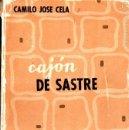 Libros de segunda mano: CAMILO JOSÉ CELA : CAJÓN DE SASTRE (EDICIONES CID, 1957) PRIMERA EDICIÓN. Lote 58069220