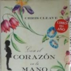 Libros de segunda mano: CON EL CORAZÓN EN LA MANO, CHIRS CLEAVE. Lote 58133209