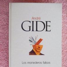 Libros de segunda mano: LOS MONEDEROS FALSOS CLASICOS DEL SIGLO XX 27 EL PAIS 2003 ANDRE GIDE (2). Lote 58185540