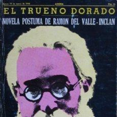 Libros de segunda mano: EL TRUENO DORADO. RAMÓN DEL VALLE-INCLÁN. Lote 58188373