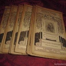 Libros de segunda mano: MAGNIFICO LOTE DE 22 LIBRILLOS ANTIGUOS DE LECTURA PUPULAR BIBLIOTECA D´AUTORS CATALANS. Lote 58225153