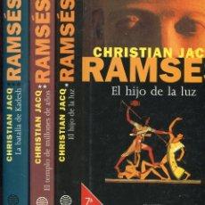Libros de segunda mano: CHRISTIAN JACQ --RAMSES . Lote 58247713