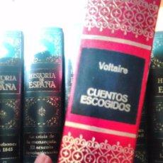 Libros de segunda mano: CUENTOS ESCOGIDOS. VOLTAIRE. Lote 58285891