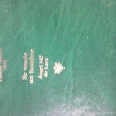 Libros de segunda mano: SE VENDE UN HOMBRE.- DE LERA, ANGEL Mª. Lote 58302943