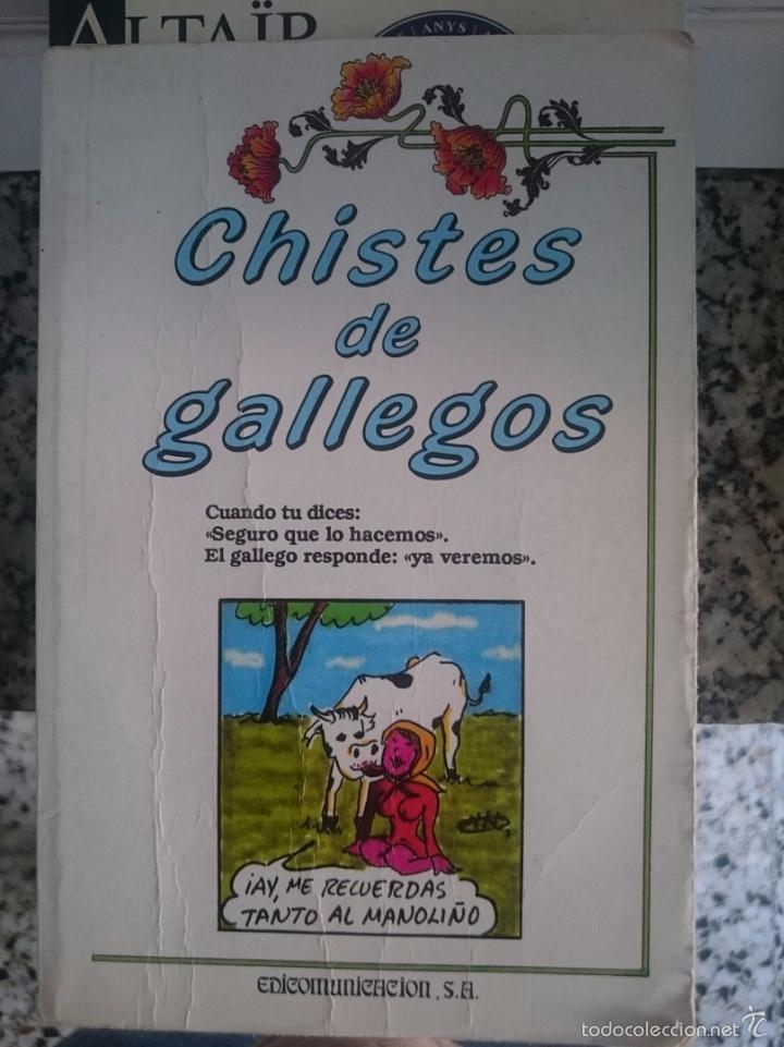 CHISTES DE GALLEGOS - ED- EDICOMUNICACIONES - AÑO 1990 --REFESCDSENALARHAMI (Libros de Segunda Mano (posteriores a 1936) - Literatura - Narrativa - Otros)