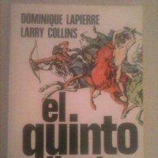 Libros de segunda mano: EL QUINTO JINETE, DOMINIQUE LAPIERRE, LARRY COLLINS, BARCELONA, PLAZA & JANES, 1980. Lote 58631819