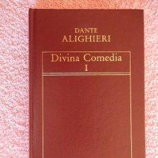 Libros de segunda mano: DIVINA COMEDIA 1 HISTORIA UNIVERSAL DE LA LITERATURA 55 EDICIONES ORBIS 1983 DANTE ALIGHIERI. Lote 80256111