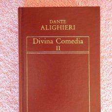 Libros de segunda mano: DIVINA COMEDIA 2 HISTORIA UNIVERSAL DE LA LITERATURA 56 EDICIONES ORBIS 1983 DANTE ALIGHIERI. Lote 80256107