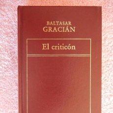 Libros de segunda mano: EL CRITICON HISTORIA UNIVERSAL DE LA LITERATURA 78 ORBIS 1983 BALTASAR GRACIAN. Lote 58837791