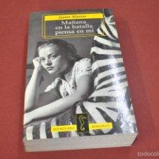 Libros de segunda mano: MAÑANA EN LA BATALLA PIENSA EN MÍ - JAVIER MARÍAS - ALFAGUARA BOLSILLO - NO37. Lote 59646675