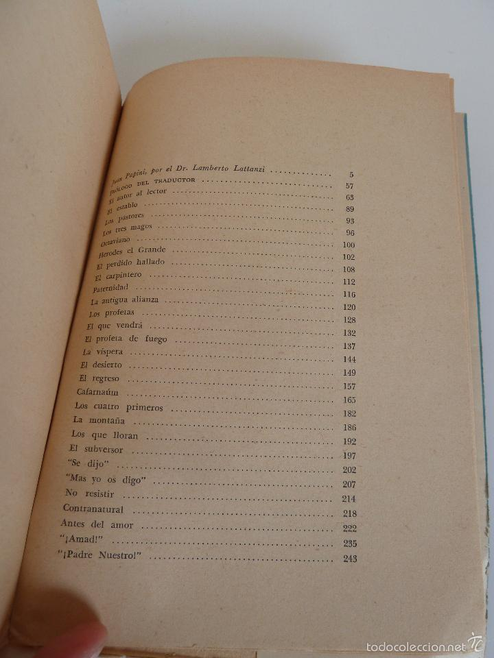 Libros de segunda mano: HISTORIA DE CRISTO (GIOVANNI PAPINI) ED MUNDO MODERNO. BUENOS AIRES, 1960 - Foto 4 - 59774920