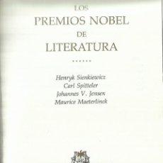 Libros de segunda mano: LOS PREMIOS NOBEL DE LITERATURA. TÍTULOS EN IMAGEN ADICIONAL. PLAZA & JANES. BARCELONA.1973. Lote 60412323