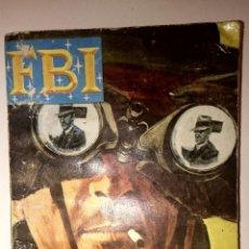 Libros de segunda mano: MINI NOVELAS POLICIACA COLECCIÓN FBI - LECCIÓN DE ESPIONAJE. Lote 60547899