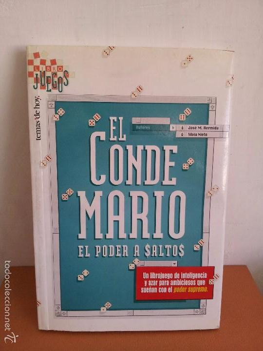 EL CONDE MARIO. EL PODER A SALTOS. J. M. HERMIDA. S. NIETO (Libros de Segunda Mano (posteriores a 1936) - Literatura - Narrativa - Otros)