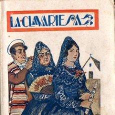 Libros de segunda mano: RAFAEL ´PÉREZ Y PÉREZ : LA CLAVARIESA (NUEVA ESPAÑA, C. 1939). Lote 60859431