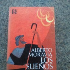Libros de segunda mano: LOS SUEÑOS DEL HARAGAN -- ALBERTO MORAVIA -- PLAZA & JANES - 1970 --. Lote 61021219