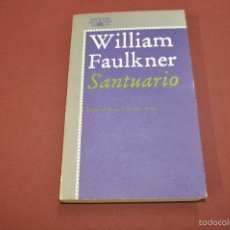 Libros de segunda mano: SANTUARIO - WILLIAM FAULKNER - EDICIONES ALFAGUARA - LITERATURA 59. Lote 61060047