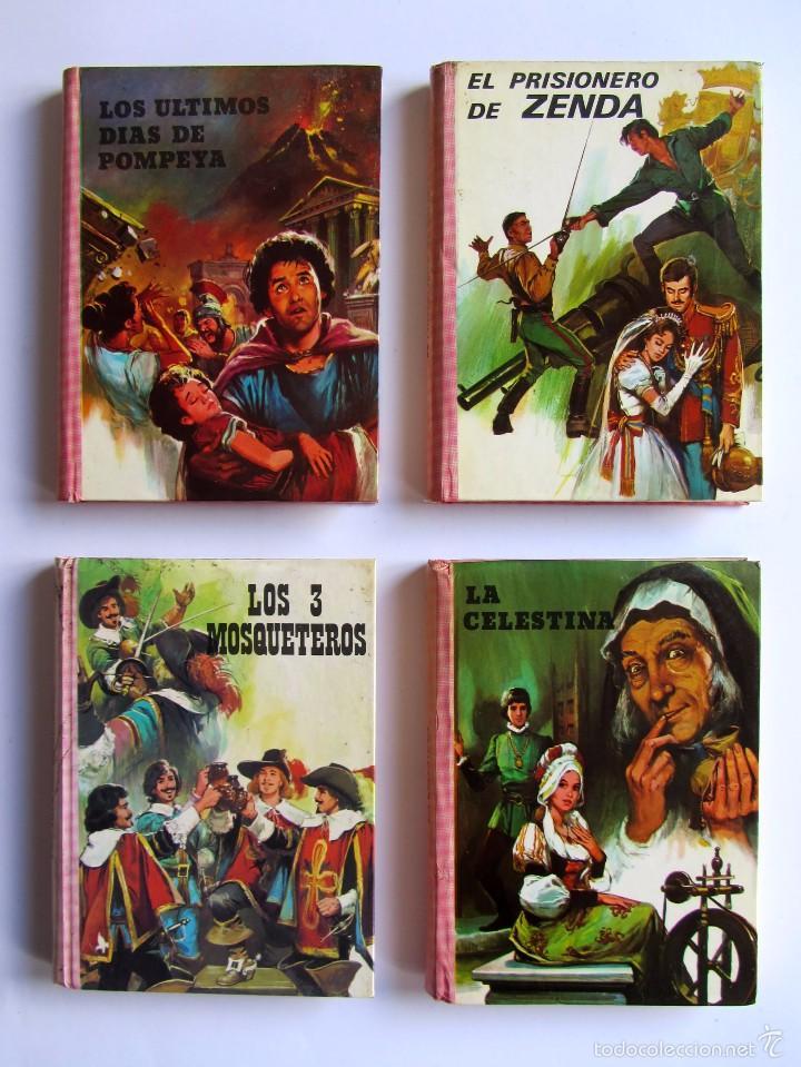 LOTE 4 LIBROS. LA CELESTINA/EL PRISIONERO DE ZENDA/LOS 3 MOSQUETEROS/LOS ÚLTIMOS DIAS DE POPEYA (Libros de Segunda Mano (posteriores a 1936) - Literatura - Narrativa - Otros)