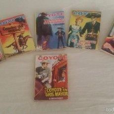 Libros de segunda mano: EL COYOTE. 6 NUMEROS. 105, 106,107,114,117,144. EDICIONES CID, 1963. Lote 61172847