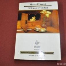 Libros de segunda mano: EL TEMPS RETROBAT - MARCEL PROUST - LES MILLORS OBRES DE LA LITERATURA UNIVERSAL - MOLU S.XX. Lote 61345083