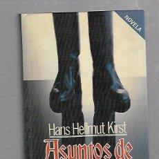 Libros de segunda mano: ASUNTOS DE GENERALES. HANS HELLMUT KIRST. PLAZA & JANES. 1º EDICION. 1985. Lote 61447995