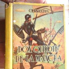 Libros de segunda mano: DON QUIJOTE DE LA MANCHA CERVANTES ED SOPENA ARGENTINA 1948 3A ED ILUSTRADO A LISA BON ESTAT V FOTOS. Lote 61582312